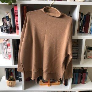 Lauren Manoogian Roll neck Tan Sweater 2